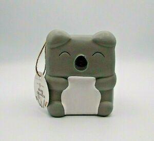Isaac Jacobs Koala Bear Makeup Brush Holder Ceramic Beauty Organizer Brand New