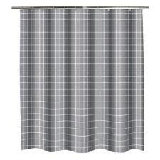 Geometric Shower Curtain Polyester Thicken Bathroom Curtain Hooks Waterproof