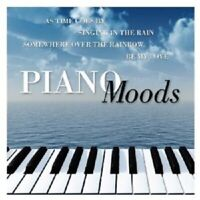 PIANO MOODS  CD 10 TRACKS POP MIDDLE OF THE ROAD NEU