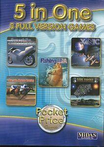 FISHING USA | Superbike | Arcade Horse Racing |Win 95 98 XP (7 8 10 see listing)