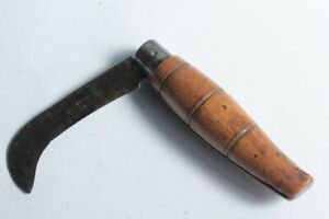 Ancien couteau NONTRON Serpette (54314)
