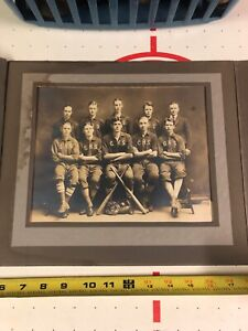 Antique 1920's Camden NY Baseball Team Cabinet Photo Vintage Picture