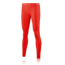 Skins Womens DNAmic Core Long Tights Bottoms Pants Trousers Red Sports Running