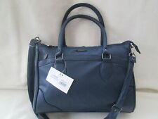Leather Grain Pu Handbags New In -Shoulder Bag/Everyday bag-Slouch Style / NAVY