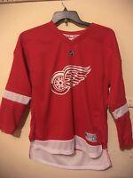 Detroit Red Wings Reebok Jersey Henrik Zetterberg # 40 Youth Size L/XL