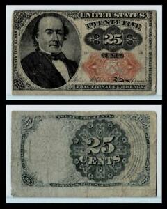 1874 25C Cents U.S. Fractional Currency Note~~FINE