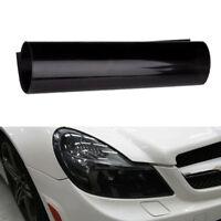 Black Auto Car Smoke Fog Light Headlight Taillight Tint Vinyl Film Sheet Sticker