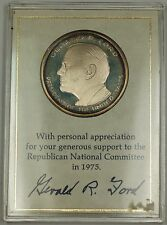 The Official 1975 RNC Commemorative Silver Medal for Gerald Ford's Campaign