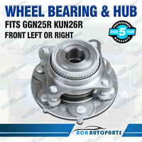 1X Front Wheel Bearing and Hub Assembly for Toyota Hilux KUN26R GGN25R 2005-2015