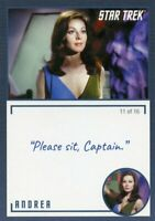 Star Trek TOS Archives & Inscriptions card #20 Andrea Variation 11 out of 16