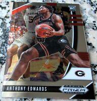 ANTHONY EDWARDS 2020 Prizm CHROME #1 Draft Pick Rookie Card RC Logo $$ HOT $$