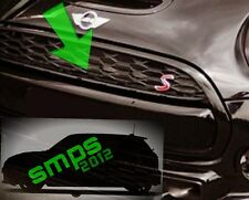 Mini F55/56/57 front grille strip Black Gloss Cooper S JCW late 2013 onwards