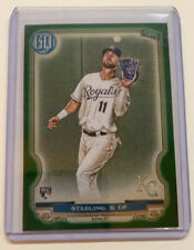 BUBBA STARLING RC 2020 TOPPS GYPSY QUEEN GREEN PARALLEL #147 ROYALS
