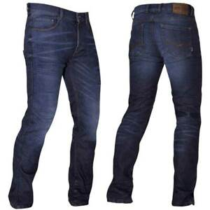 Richa Original Motorcycle Motorbike Denim Jeans SW Blue