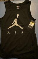 Jordan Men's Small - JUMPMAN TANK TOP - Black CZ2326 010 shirt S Basketball
