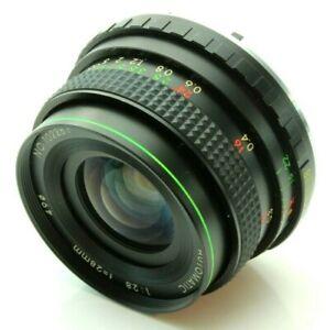 Hanimex 28mm 2.8 Wide Angle Camera Lens for Pentax K (PK) Mount 102281