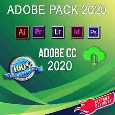 Adobe Photoshop 2020 illustrator / Indesign /Premiere lifetime Windows Delivery