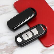 Black Soft TPU Remote Keyless Fob Cover Case For Mazda 3 6 CX5 CX7 CX-9