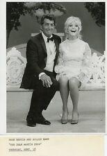 GOLDIE HAWN DEAN MARTIN SMILING THE DEAN MARTIN SHOW ORIGINAL 1971 NBC TV PHOTO