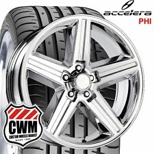 "20x8"" inch Iroc Z  Chrome Wheels Rims 245/30ZR20 Tires for Chevy Camaro 82-92"
