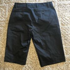New York and Company NY&Co Summer Stretch Black Shorts Low Rise Size 0