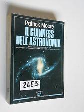 Moore IL GUINNESS DELL'ASTRONOMIA (24 E 3)