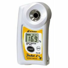 Atago Pocket Refractometer PAL-22S Honey Moisture Meter Digital Japan