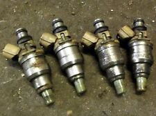 Fuel injector set, Mazda MX-5 1.8 mk1 Eunos MX5, 230cc, used brown top injectors