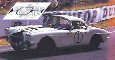 Decals Corvette C1 Le Mans 1962 1:32 1:43 1:24 1:18 64 87 Chevrolet Slot calcas