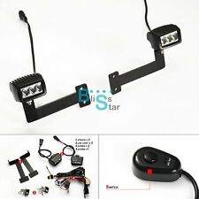 LED Auxiliary Fog Spot Lights & Bracket For BMW F800GS 2013-2015 O2