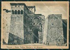 Perugia Città Porta Urbica o di Augusto FG cartolina KB4733
