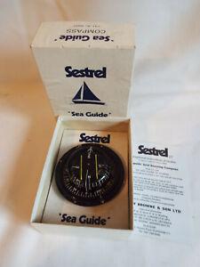 Vintage boxed Sestrel Sea Guide Compass