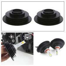 2pcs Car HID/LED Xenon Halogen Bulb Headlight Rubber Dust Cover Cap Universal