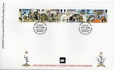 1996 Alderney Signal Regiment First Day Cover