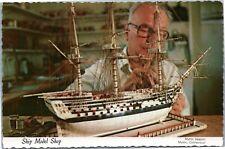 Mystic Seaport,Ship Model Shop - Building a model ship
