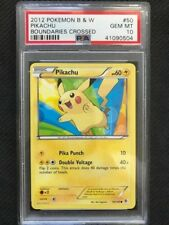 PSA 10 Gem Mint - PIKACHU - Pokemon TCG: Boundaries Crossed #50 Let's Go Pikachu