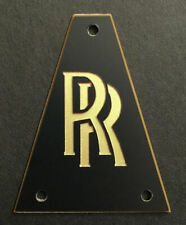 GUITAR TRUSS ROD COVER Engraved Etched Fit JACKSON - RANDY RHOADS RR BLACK GOLD