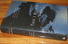 THIS I Believe ~ Ed  John Marsden 1st HbDj 1996 UNread!! 100 Eminent Australians