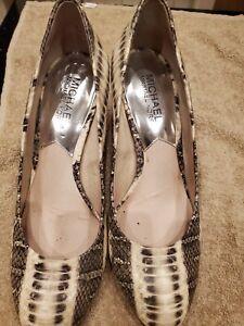 Michael Kors Animal Print Shoes SIZE 6