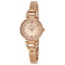 Fossil Georgia Rose Gold-tone Ladies Watch ES3268