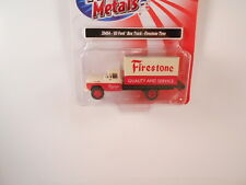 HO Scale C M W #30454 60 Ford Box Truck- Firestone Tires
