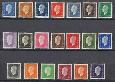 France 1944-1945 MNH Mi 709-728 Sc 504-523 Marianne.Set **