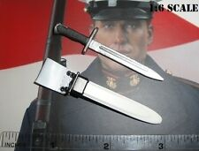DiD 1/6 Scale USMC Ceremonial Honor Guard Tony Dress Bayonet & Scabbard A80087