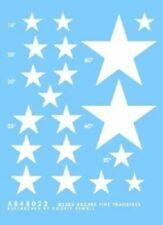 STARS FOR SHERMANS TANK 1:48 ARCHER TRANSFERS 48022W