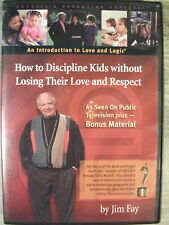 How To Discipline Kids Without Losing Their Love And Respect (DVD, 2005) Jim Fay