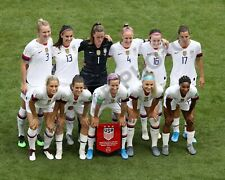 USA WOMEN'S SOCCER TEAM USNWT 11x14 PHOTO 2019 FIFA WORLD CUP CHAMPIONS