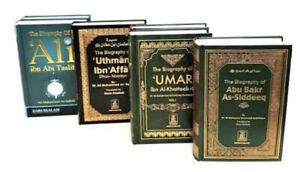 The Four Caliphs Collection: Abu Bakr, Umar, Uthman & Ali (RA) -DS-HB