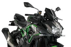 Puig Black New Generation Sport Screen Kawasaki ZH2 2020-2021 20506N