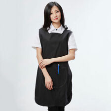 Tabard Apron Catering Pocket Overall Uniform Salon Spa Beauty Bar Clean Workwear
