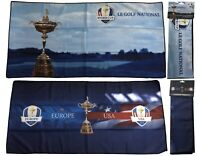 Ryder Cup Graphic Golf Towel Microfibre Waffle - RRP€36 - Le Golf National 2018
